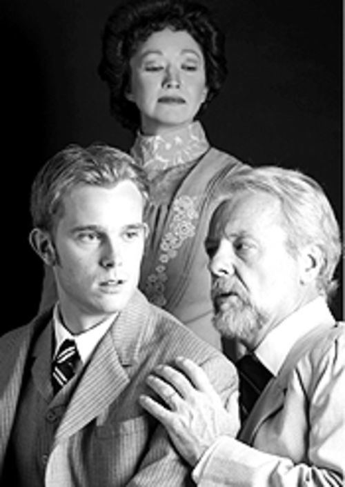 Paul Green, Devora Millman and Charlie Ferrie in The Picture of Dorian Gray.
