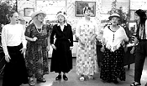 Golden age: The Raging Grannies.