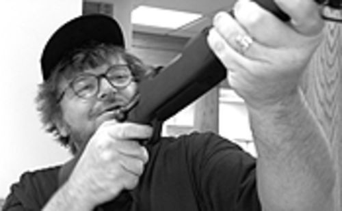 Scattershot: Michael Moore takes aim at America's gun culture.