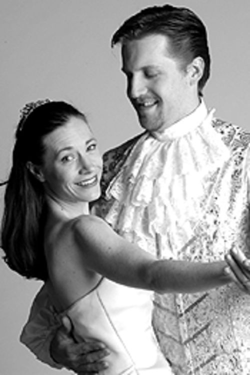 Jessica Hudspeth and Scott Foster find romance in Cinderella.