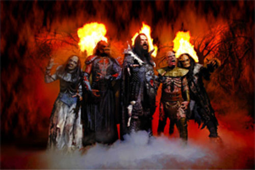 Um, Mr. Lordi? Your hair is, like, on fire and stuff.