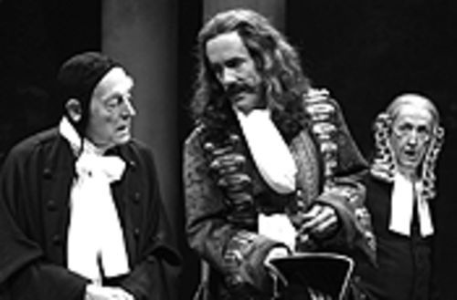 Tony Church, John Hutton and Randy Moore in  Love's Labor's Lost.