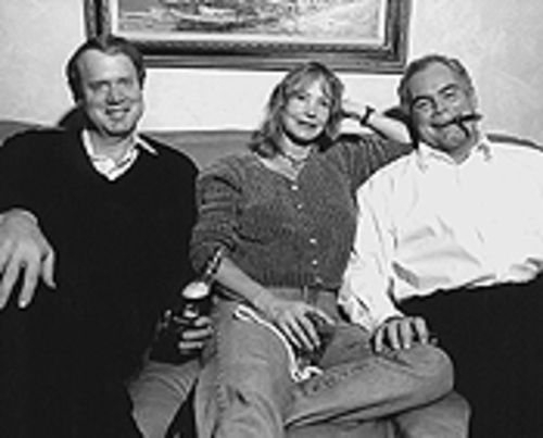 Our town: Chuck Bonniwell, Deborah Matthews and  Mike Dunafon back in 2000, when Glendale residents  were steaming over the Tea Party.