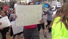 Denver Middle Schoolers Walk Out for Ferguson