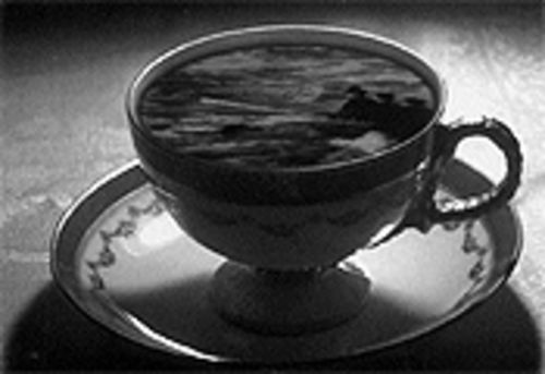 """Teacup,"" by Dorothy Cross, DVD still."