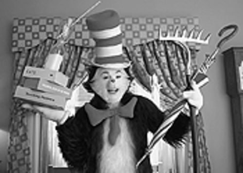 Hair ball: Mike Myers inhabits a feline form in Dr. Seuss' The Cat in the Hat.
