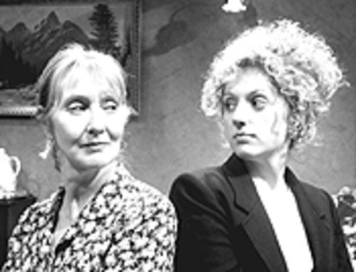 Cody Alexander and Jennifer Anne Forsyth in Three  Tall Women.