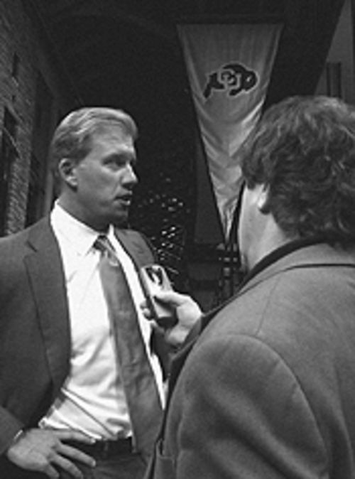 From Biff to Buff: John Elway discusses his future  plans.
