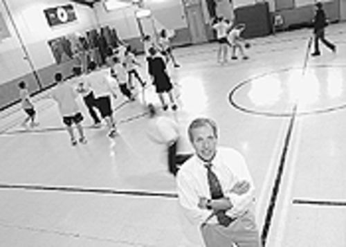 Steve Cyphers when he was on the job at Holy Family  Catholic School in Grand Junction.