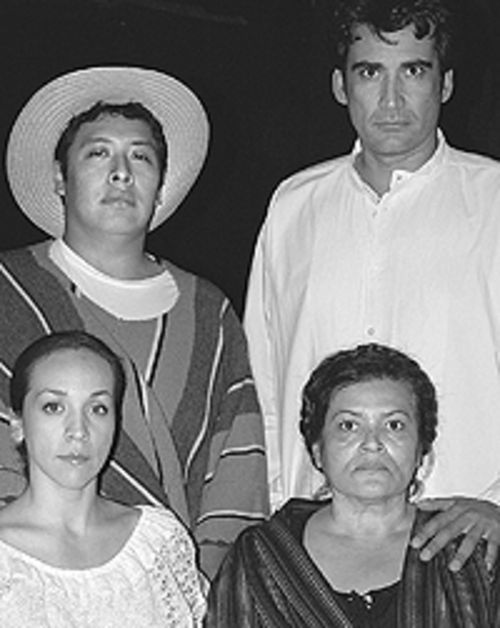 El Centro Su Teatro presents La Guerra Eterna  through November 20.