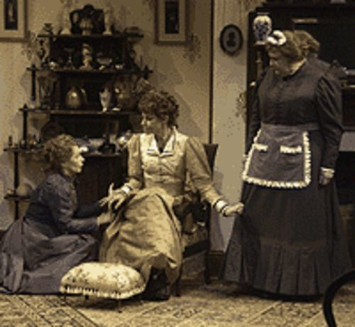 Robin Moseley, Annette Helde and Kathleen M. Brady  in Boston Marriage.