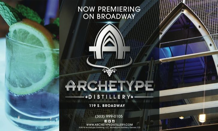 Archetype Distillery Holding Source Rock