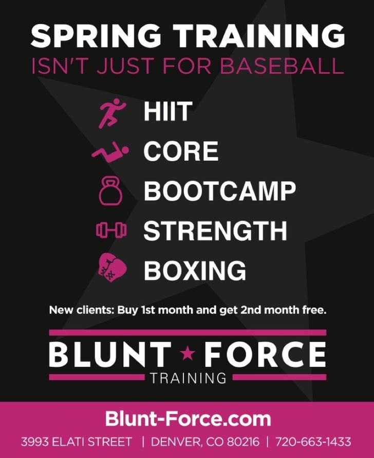 Blunt Force Training