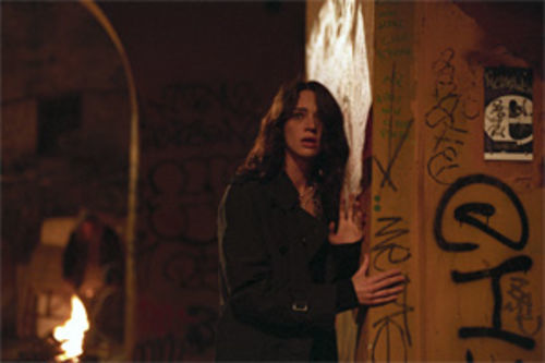 Asia Argento reads the writing on the wall in Mother of Tears.