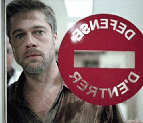 Babel has a strong cast, including Brad Pitt,  but the script is channeling Yoda.