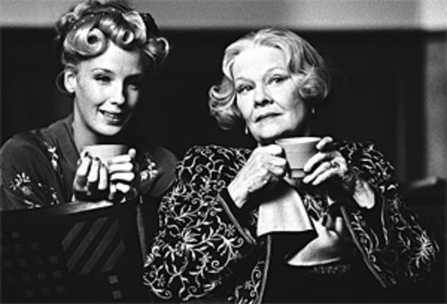 Dame Judi Dench and her crumpet, Kelly Reilly, come  up roses in Mrs. Henderson Presents.