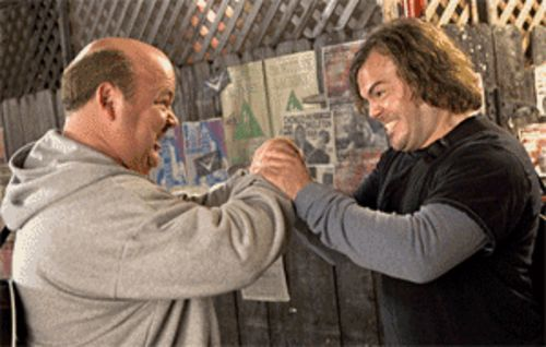 Kyle Gass and Jack Black are Tenacious D-viants.