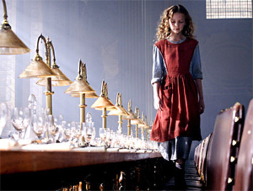 Dakota Blue Richards stars as Lyra in The Golden Compass.