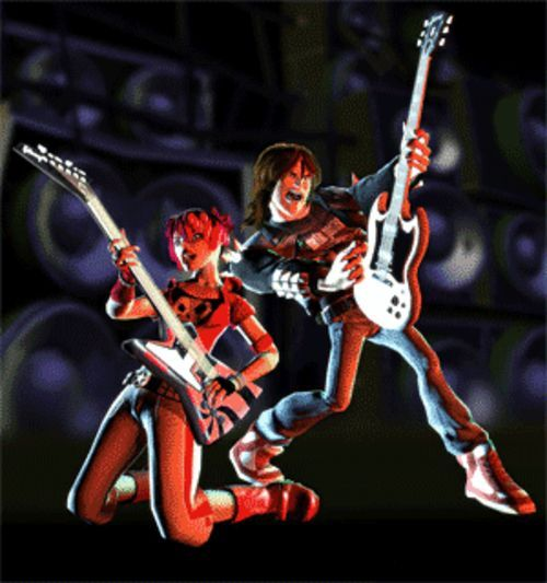 Guitar Hero II: The most fun you can have with a  miniature plastic guitar.