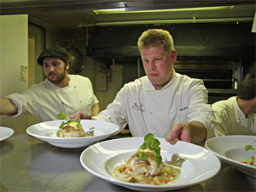 Chef Alex Seidel led Fruition to top honors as Best New Restaurant of 2007.