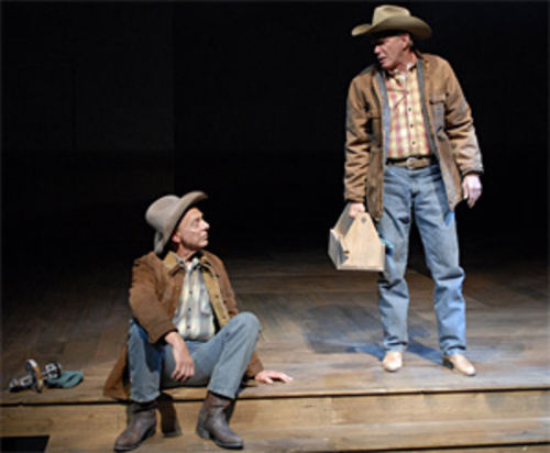 Philip Pleasants (left) and Mike Hartman as the McPheron brothers in Plainsong.