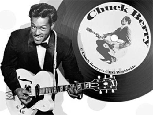 Johnny be old: Chuck Berry.