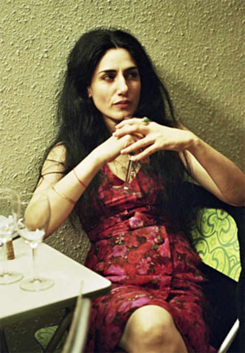 Ronit Elkabetz plays divorcée Dina in The Band's Visit.