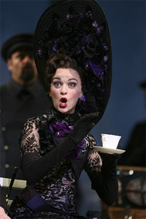 Lisa O'Hare makes a fair lady as Eliza Doolittle.