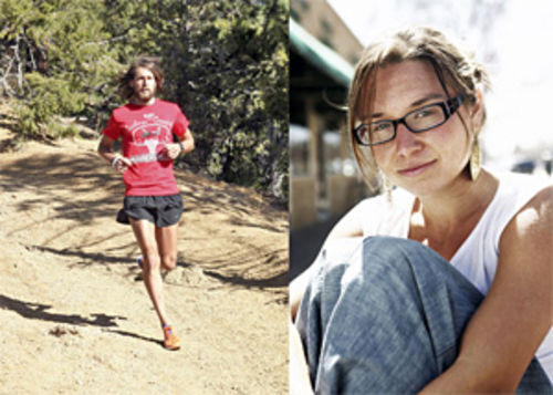 The running man: Tony Krupicka often runs trails 180 miles a week; Jocelyn Jenks crewed for him when he finished the 2007 Leadville 100 race three hours ahead of the nearest contender.