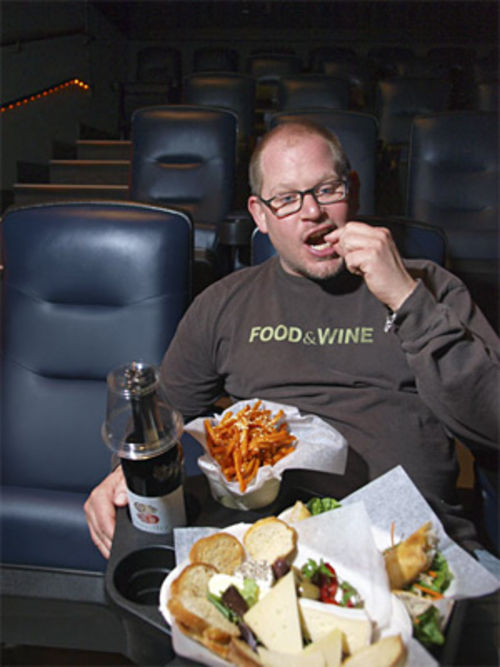 James Mazzio makes food a featured attraction at Neighborhood Flix.