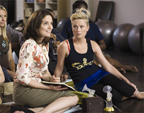Tina Fey and Amy Poehler make trouble in Baby Mama.