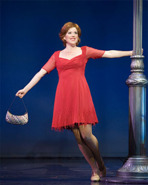Molly Ringwald can't dance, but she's got star power in Sweet Charity.