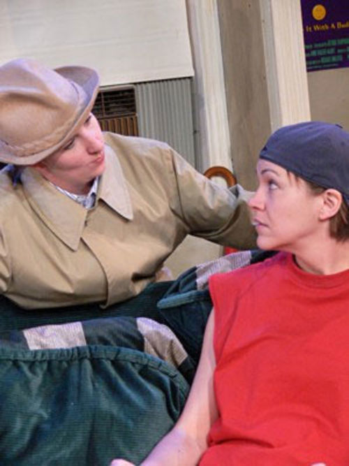 Missy Moore (left) and Laura Norman are Matt and Ben.