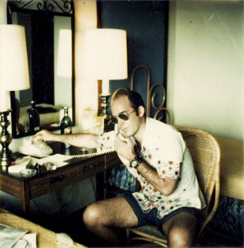 Hunter S. Thompson's life is commemorated in Gonzo.