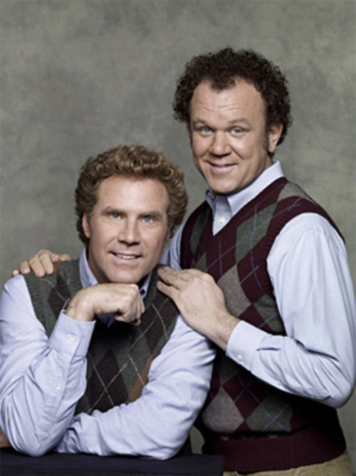 Will Ferrell and John C. Reilly are Step Brothers.