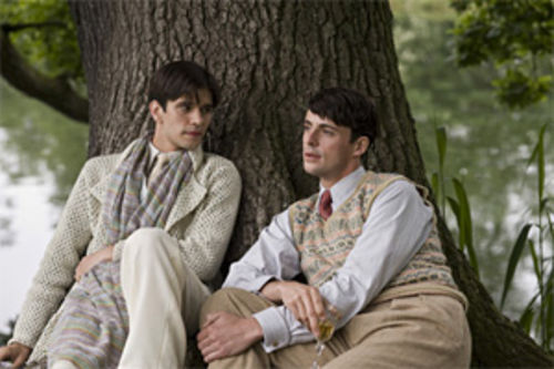 Ben Whishaw and Matthew Goode cross class boundaries in Brideshead Revisited.