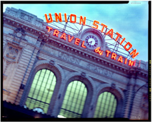 An artist's rendering of what Union Station will look like in 2012.