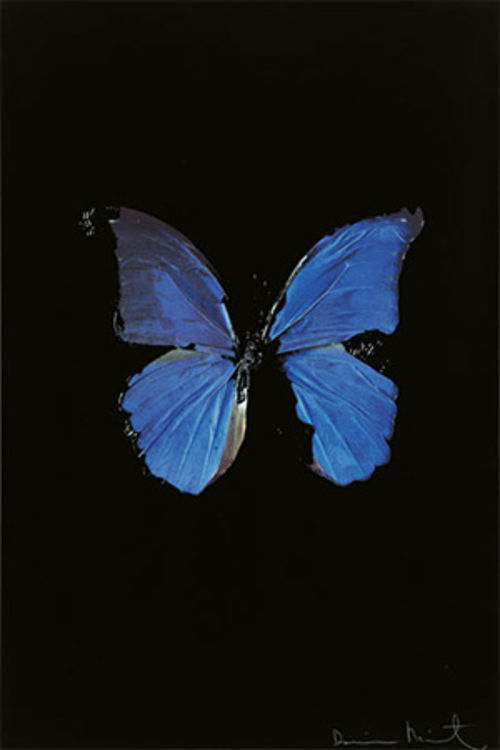 """Soul of Jacob's Ladder,"" by Damien Hirst, photo-based print."