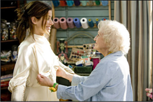 Sandra Bullock and Betty White in The Proposal.