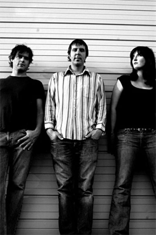Rising Son: Todd Ayers (from left), Zack Littlefield and Liz Forster are Sonnenblume.