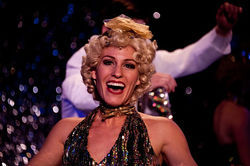 Katie Ulrich as Peggy in 42nd Street.