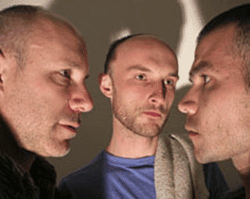 Blood will tell: Ami Dayan (from left), Tyler Ryan and  Ryan Eggensperger in Masked.