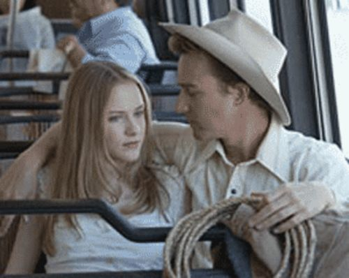Evan Rachel Wood and Edward Norton go Down  in the Valley.