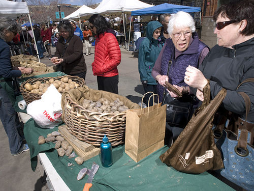 The Boulder Farmers' Market kicked off Colorado's market season on Saturday.