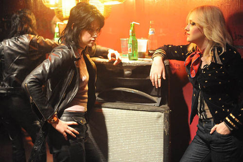Kristen Stewart and Dakota Fanning stay cool in The Runaways.