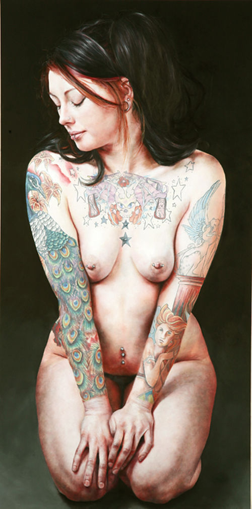 """Candice II,"" by Marie Vlasic, oil on canvas."