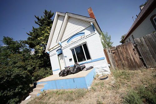 This home, in the 2500 block of Irving Street, became a house of horrors for Kristen Stillman.
