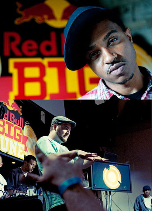 Beat street: Boonie Mayfield (top) and Xperiment Beats represent the Mile High City in this week's Red Bull Big Tune finals in Chicago.