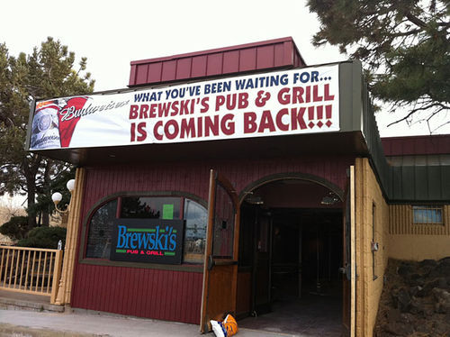 Brewski's is upgrading to upscale.