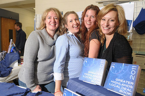 The Highlands Business Group includes Angela Tolar, Leanne Silverman, Kimberly Haut and Lauren Wolf.
